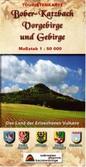 Bober-Katzbach Vorgebirge und Gebirge : das Land der Erloschenen Vulkane : maßstab 1:50 000