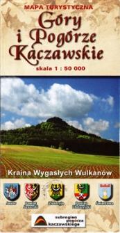 Góry i Pogórze Kaczawskie : Kraina Wygasłych Wulkanów : mapa turystyczna : skala 1:50 000